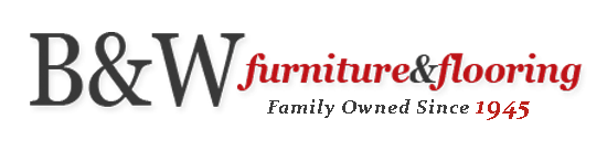 B&W Furniture and Flooring Logo